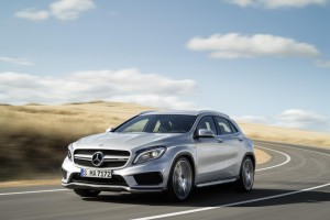 The new Mercedes Benz GLA 45 AMG is a High Performance Ute
