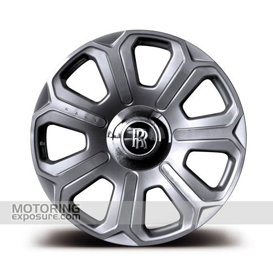 Silver Mist Rolls Royce Wheels