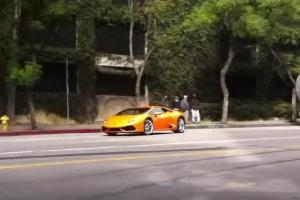Lamborghini Huracán Drifting