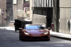 Lamborghini Huracán Caught Filming