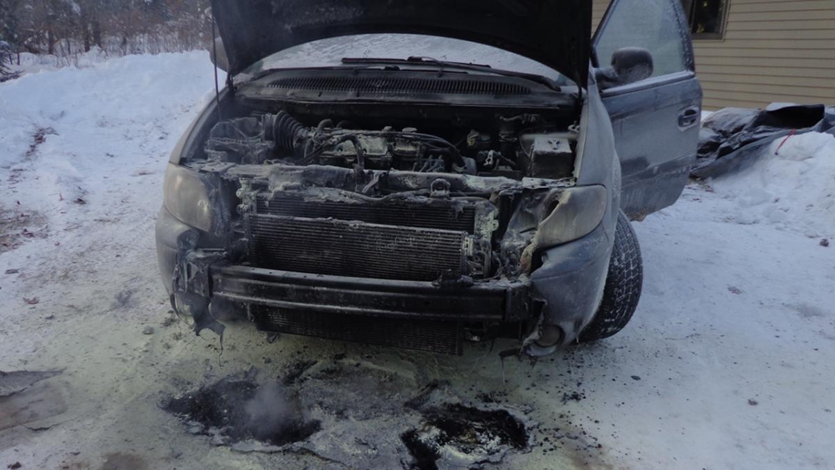 Charcoal Van Burnt