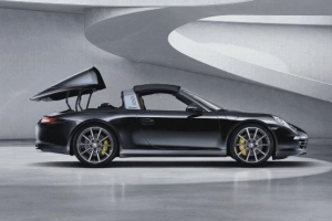 The Porsche 911 Targa 4/4S Top is Magic!