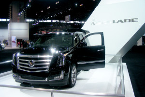 Cadillac Escalade at the 2014 Chicago Auto Show