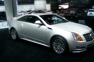 Cadillac at the Chicago Auto Show