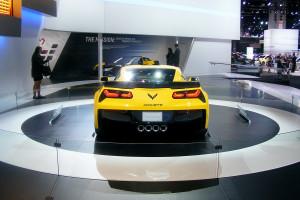 Chevrolet Corvette at the Chicago Auto Show (10)