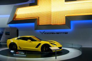 Chevrolet Corvette at the Chicago Auto Show (2)