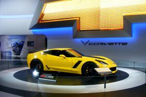 Chevrolet Corvette at the Chicago Auto Show