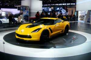 Chevrolet Corvette at the Chicago Auto Show (5)