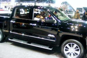 Chevrolet Silverado at the Chicago Auto Show