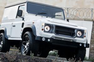A Kahn Design Land Rover Defender 2.4 TDCI 90 Hard Top Chelsea Wide Track