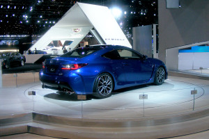 Lexus RC F Coupe at the 2014 Chicago Auto Show