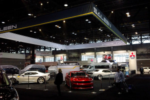Saleen at the Chicago Auto Show 2014
