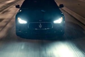 Maserati Ghibli Super Bowl Ad