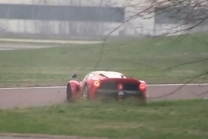 LaFerrari Spin Out