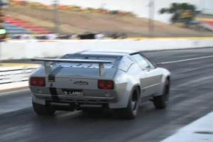 Lamborghini Jalpa drag strip