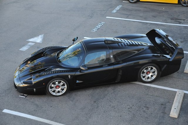 The Only Black Maserati MC12 is For Sale in Los Angeles