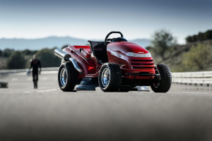 Honda Mean Mower World Record Top Speed