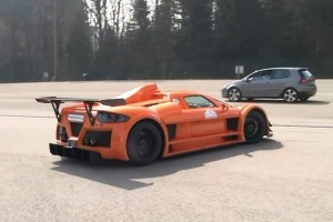 Listen to a Gumpert Apollo Sport at Spa-Francorchamps