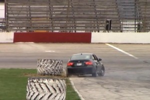 Watch a Guy Crash his BMW M3 while Drifting