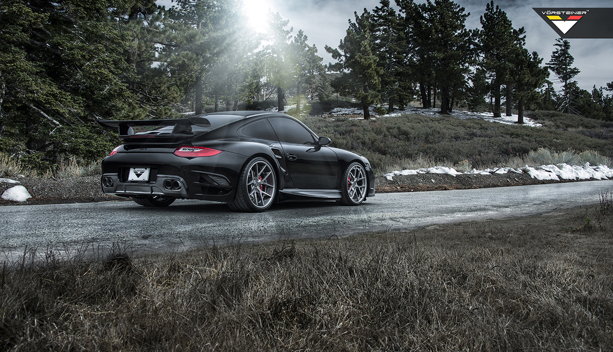 Vorsteiner Goes For Speed With The 997 Porsche 911 Turbo V Rt