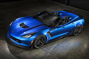 Drop that Supercharged Top on the 2015 Chevrolet Corvette Z06 Convertible