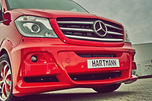 Hartman Tuning Makes the Mercedes-Benz Sprinter a Show-Stopper