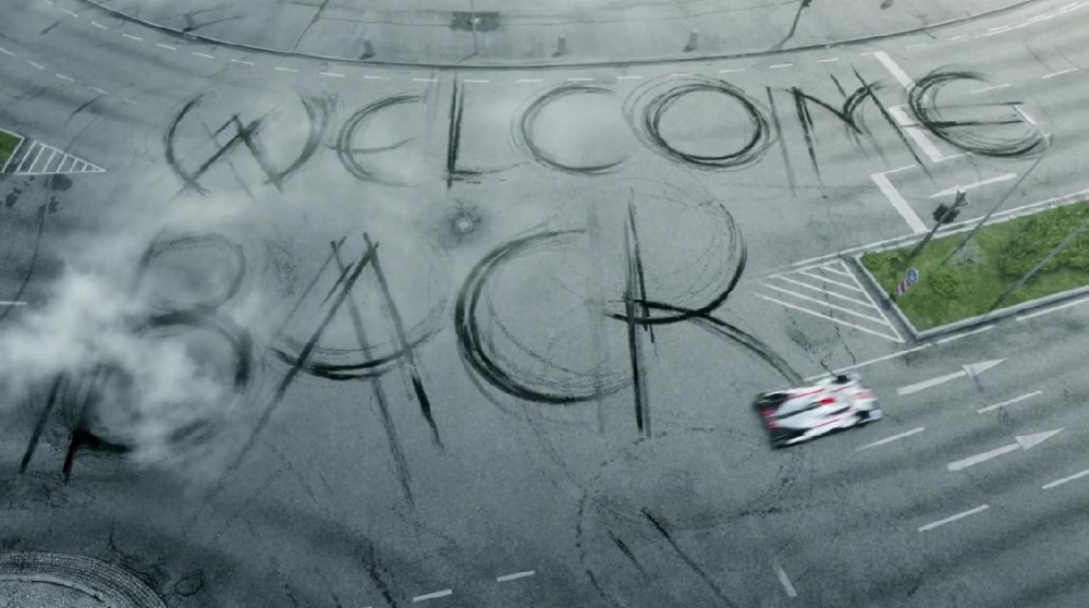 Audi Welcome Back Porsche