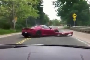 Friday FAIL Ferrari F430 Crash