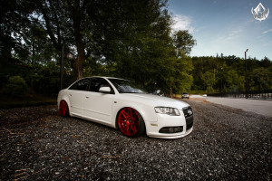2007 Audi A4 with VIP Modular VRC13 Wheels