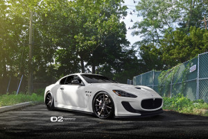 Maserati GranTurismo MC Stradale with D2Forged CV11 Wheels
