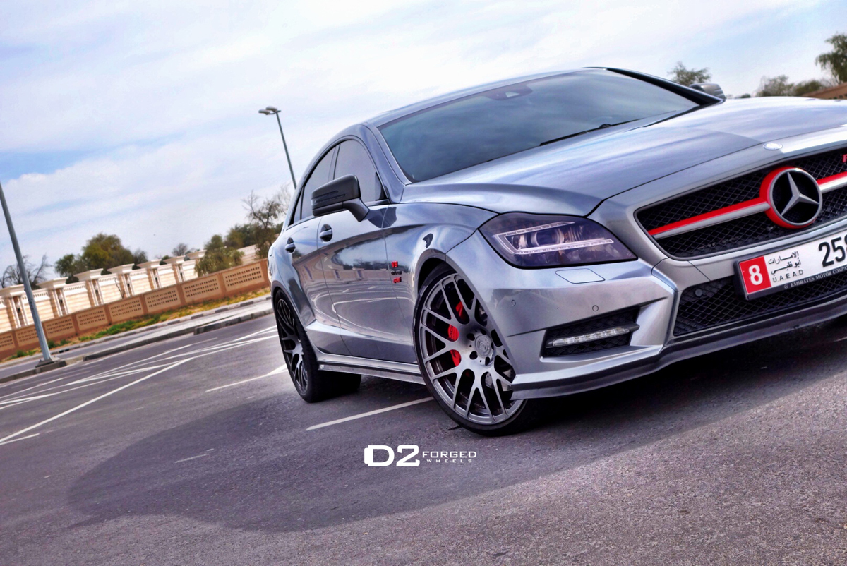 featured fitment mercedes benz cls500 with d2forged mb1. Black Bedroom Furniture Sets. Home Design Ideas
