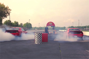 Dodge Challenger SRT Hellcat Burnouts