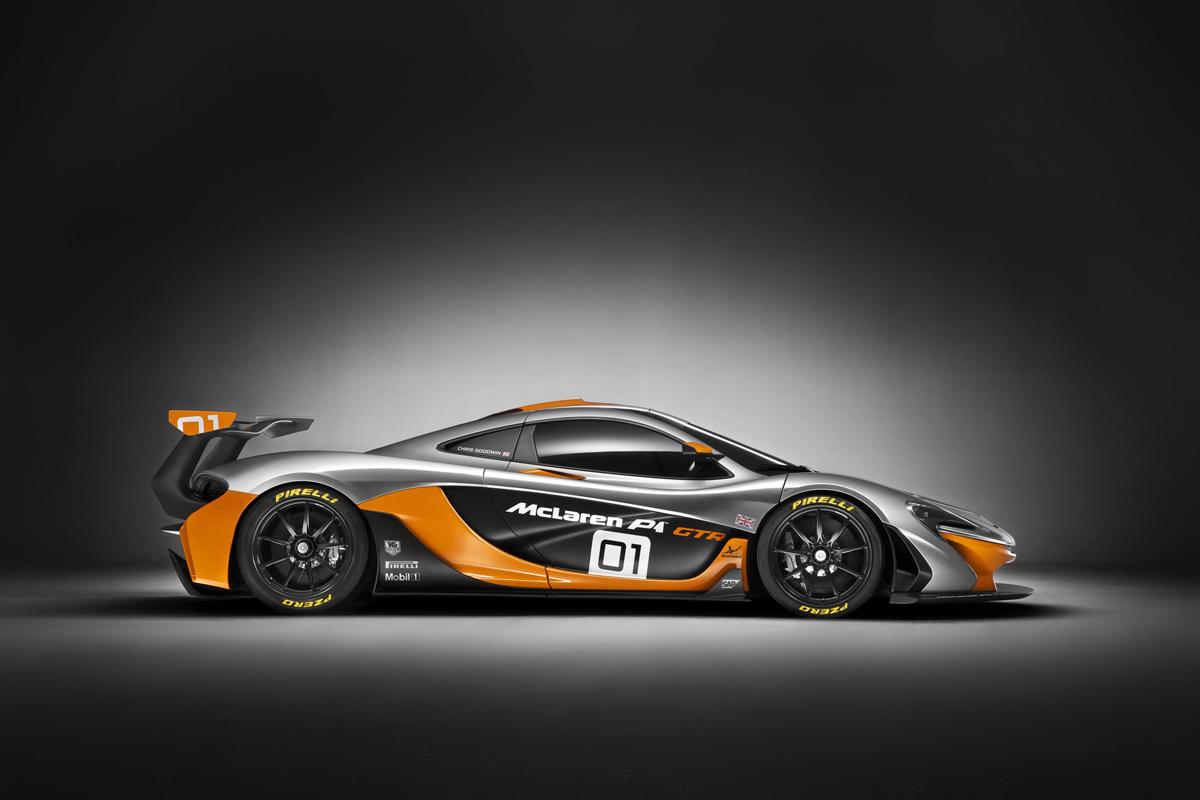 McLaren P1 GTR Design Concept