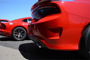 Dodge Charger SRT Hellcat Exhaust