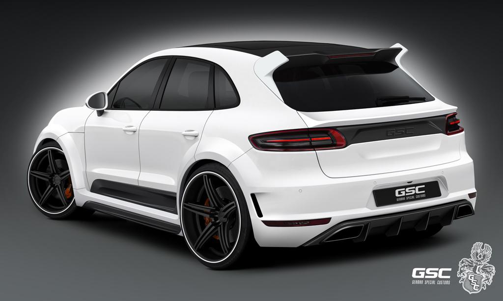 German Special Customs Previews Their Porsche Macan