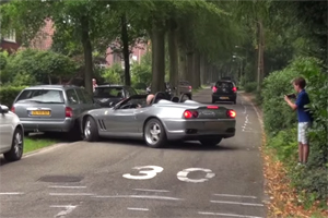 Friday FAIL Ferrari 550 Barchetta