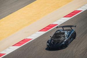 McLaren P1 GTR Testing