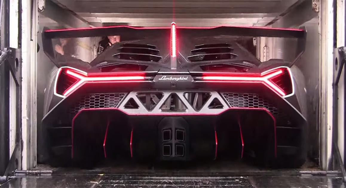 Lamborghini Veneno Exhuast