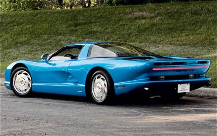Mid engine Corvette Concept