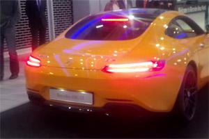 Mercedes-AMG GT S Exhaust