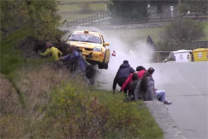 Renault Clio Rally Crash