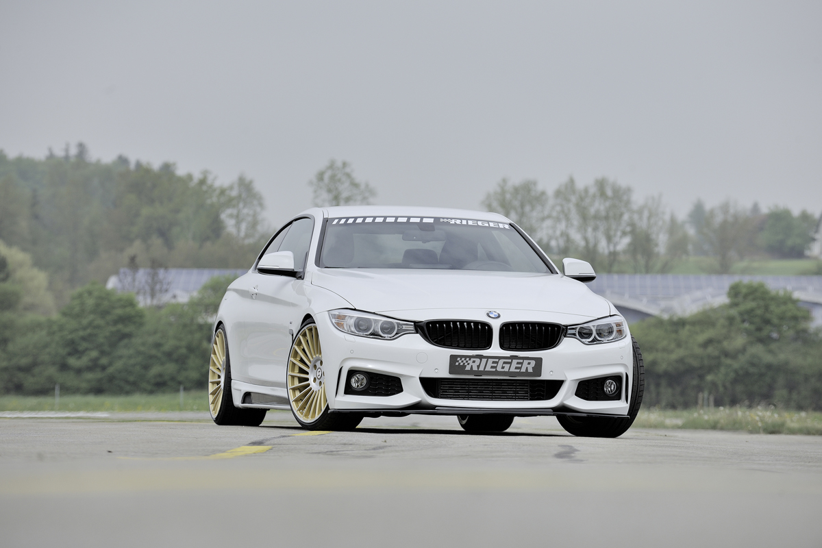 rieger tuning spruces up the f32 33 bmw 4 series. Black Bedroom Furniture Sets. Home Design Ideas