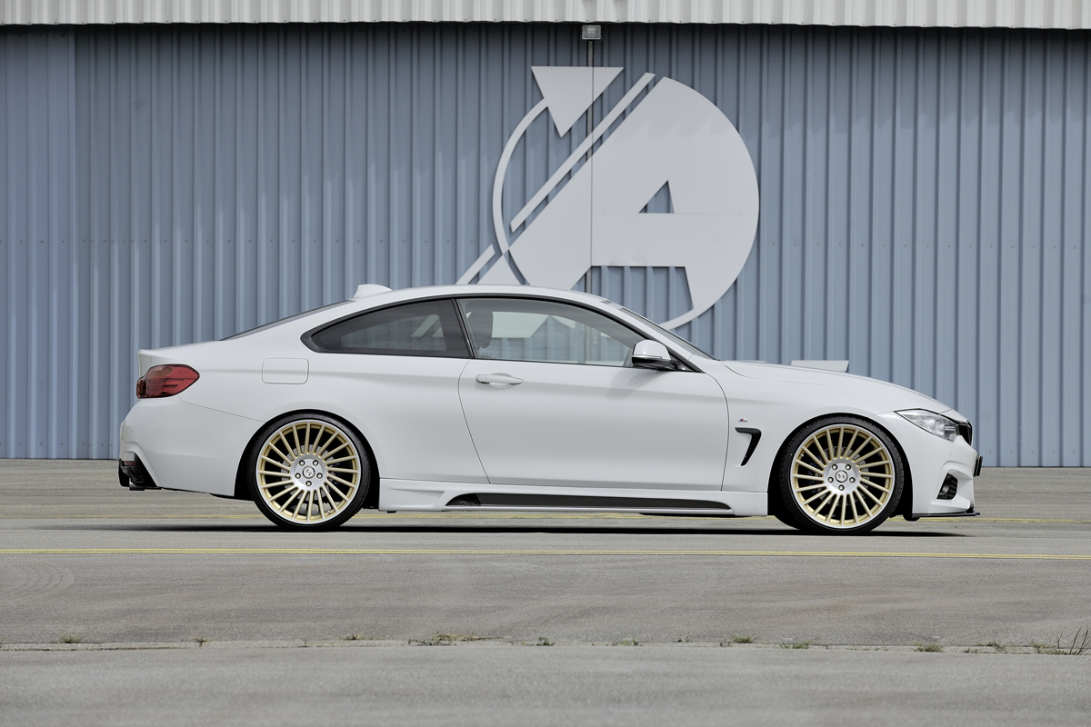 tuningcars rieger tuning spruces up the f32 33 bmw 4 series. Black Bedroom Furniture Sets. Home Design Ideas
