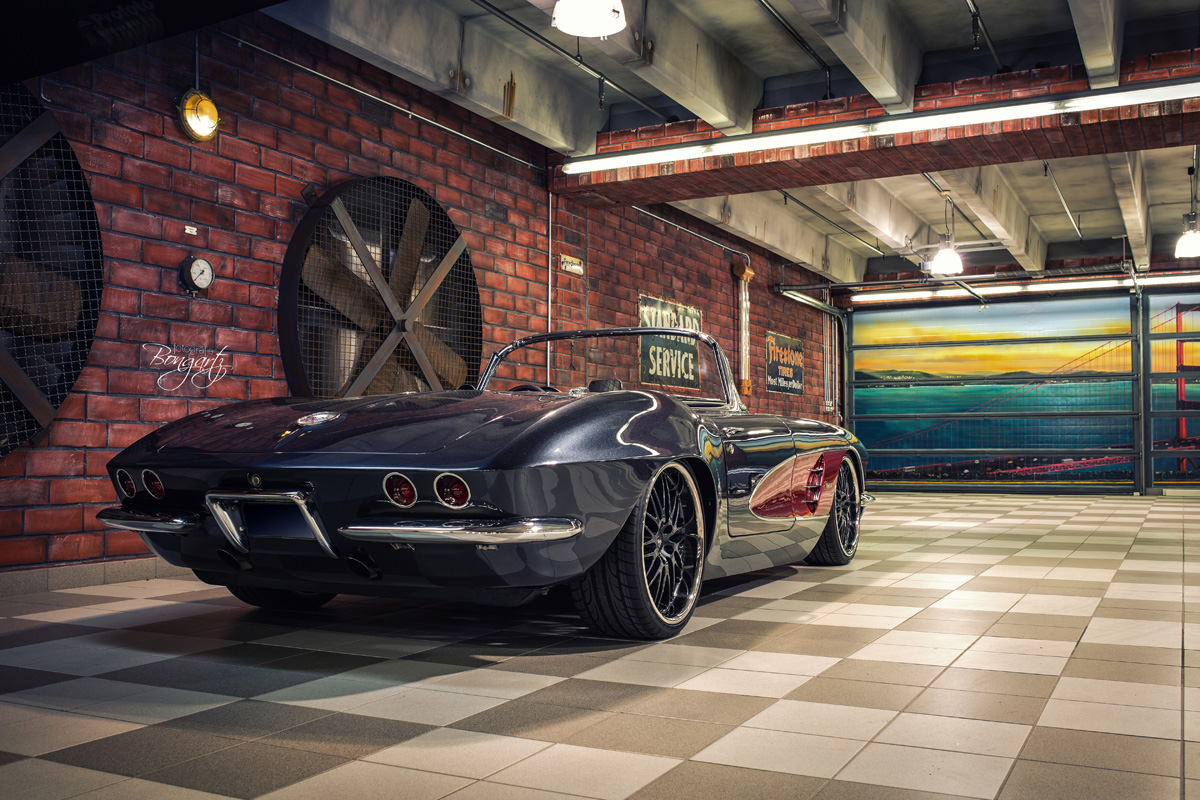 WheelsandMore Builds a C1 1961 Chevrolet Corvette