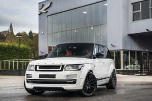 A Kahn Design Fuji White Range Rover 4.4 SDV8 Autobiography LWB RS-600 Performance Edition