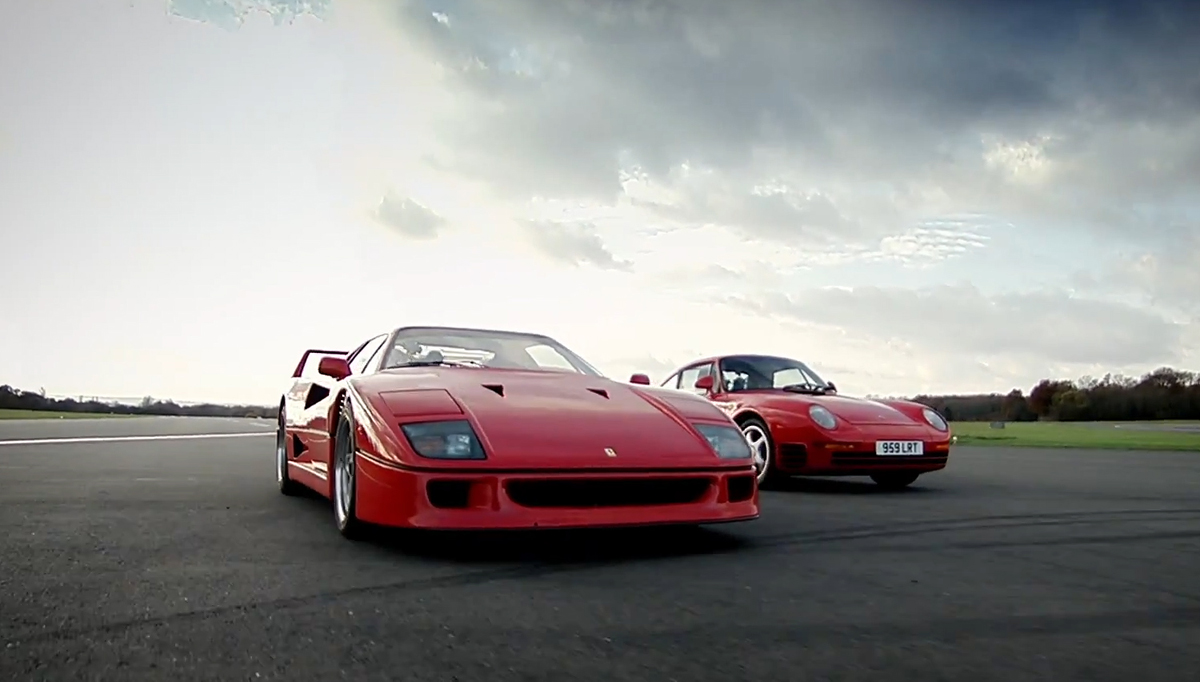 F50 and 959