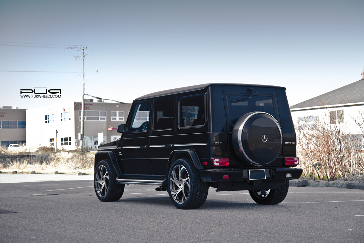 Mercedes-Benz G63 AMG PUR RS12 Wheels