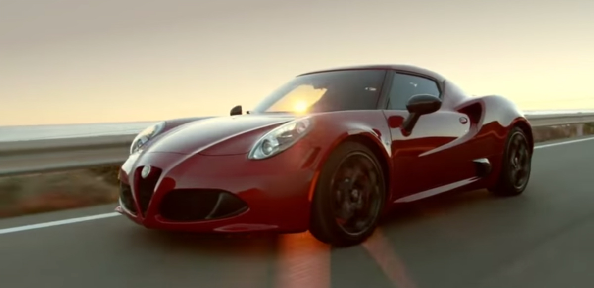 Alfa Romeo 4C Sex Sells