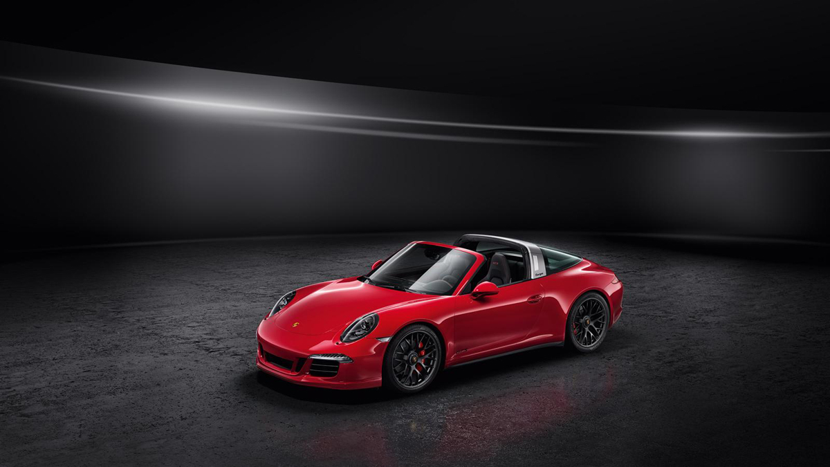The Porsche 911 Targa 4 Gets the GTS Treatment in Detroit