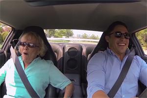 Grandma Nissan GT-R Ride